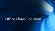 Office Chaos Solutions logo