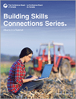 Report cover for Building Skills Connections Series: Alberta in a Nutshell