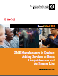 Image of the SME Manufacturers in Quebec: Adding Services to Boost Competitiveness and the Bottom Line cover